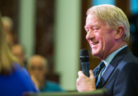 Bill Weld at Kennedy Institute