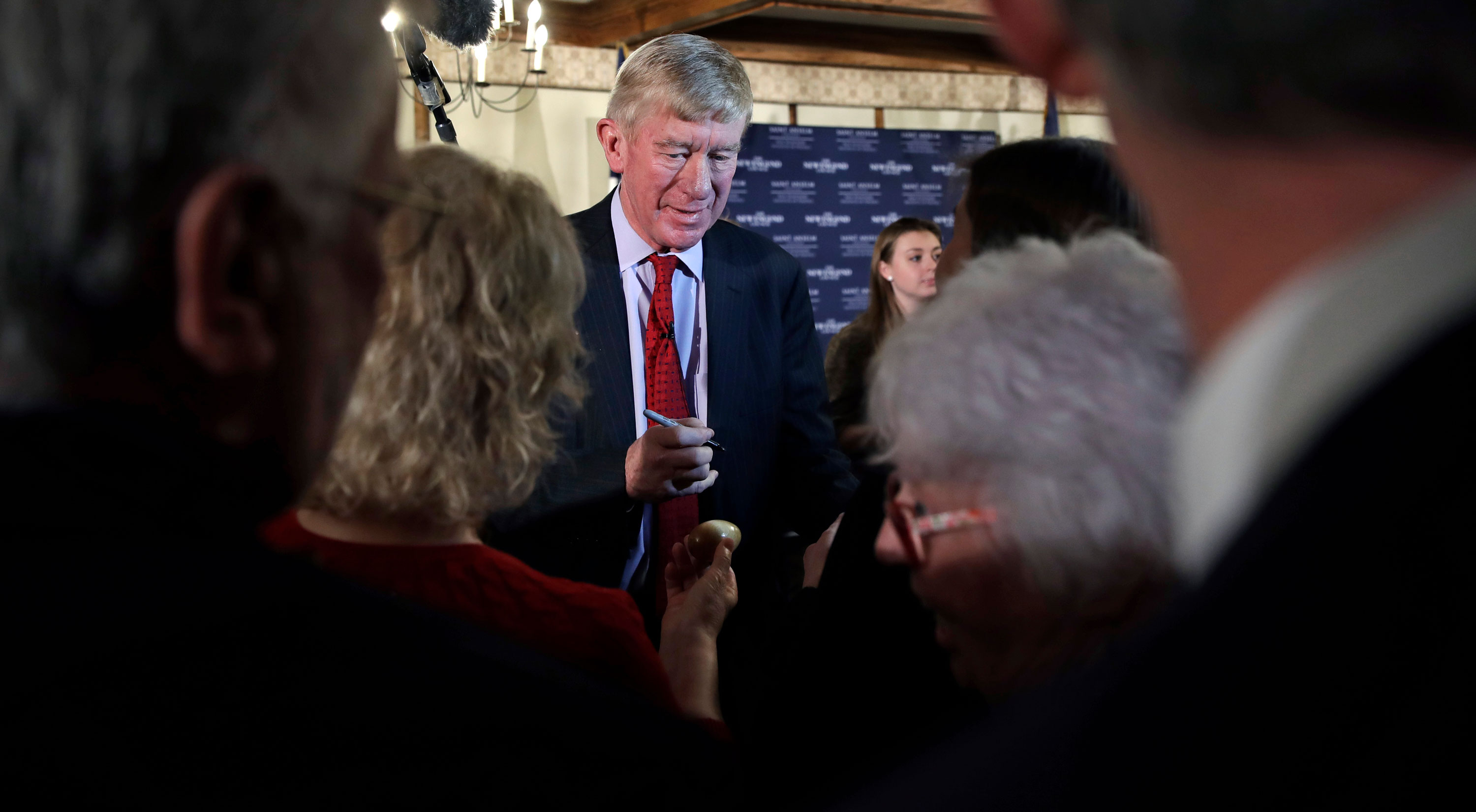Bill Weld Says No Challenge To Trump In GOP Primaries Would Hurt The Nation