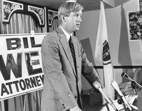 Throwback to Weld for Attorney General