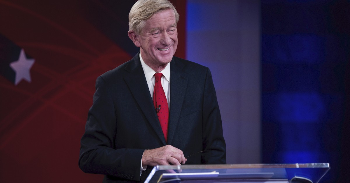 Vermont's Republican Governor Endorses Trump's Primary Challenger Bill Weld