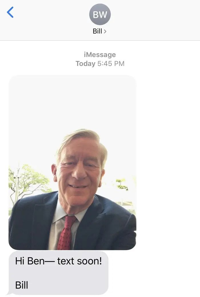 "Texting With Bill Weld: ""100% Democratic Rule"" If Senate Republicans Listen To Trump"