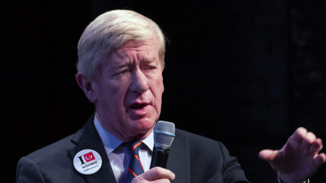 Bill Weld takes on Trump in GOP primary