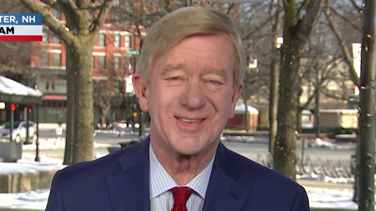Weld on being the last Republican standing against Trump